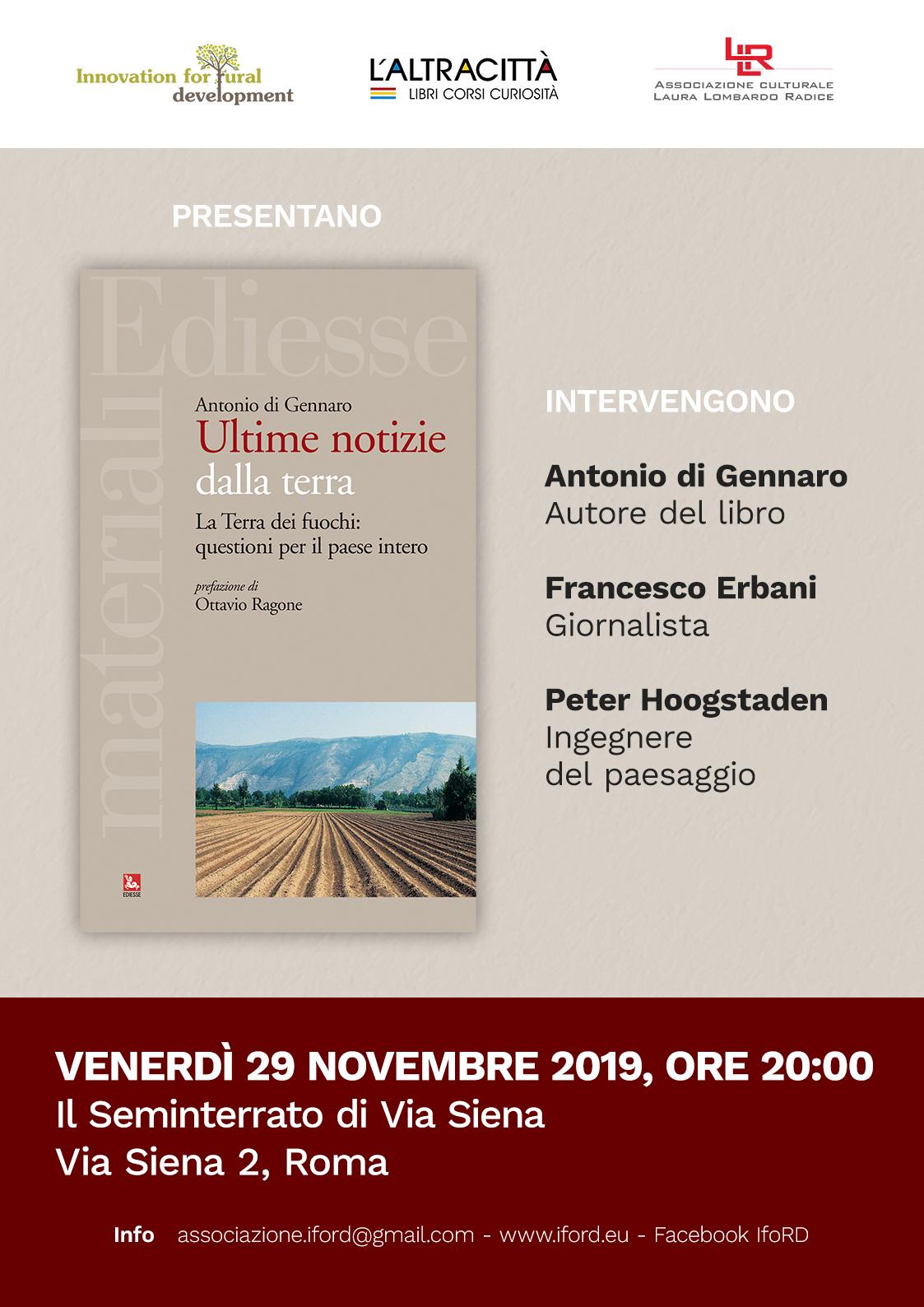 IfoRD – Innovation for Rural Development – Antonio di Gennaro